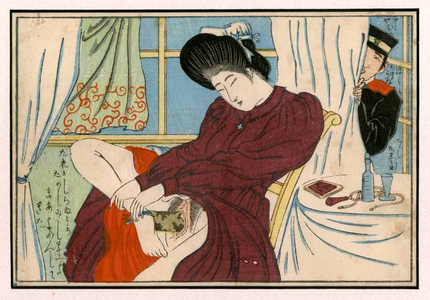 Ancient japanese erotic